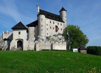 zamek bobolice panorama