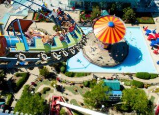 wydarzenia w parku rozrywki w Zatorze